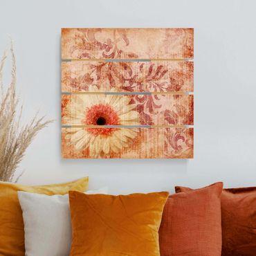 Stampa su legno - Forgotten Bellezze I - Quadrato 1:1