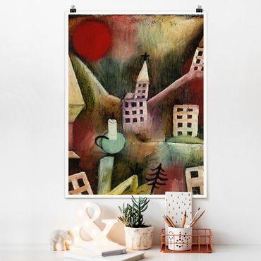 Poster - Paul Klee - Distrutto Village - Verticale 4:3