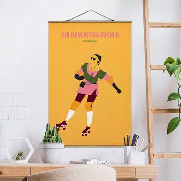 Foto su tessuto da parete con bastone - Poster di film Dare Le Scimmie Zucchero - Verticale 3:2