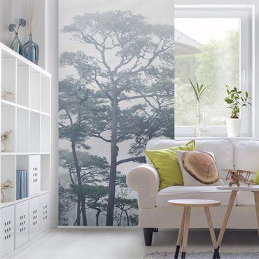 Tenda a pannello - Treetops In Fog - 250x120cm