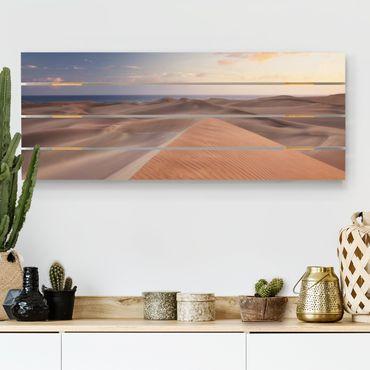 Stampa su legno - Dunes Path - Orizzontale 2:5