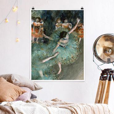 Poster - Edgar Degas - Verde Ballerini - Verticale 4:3