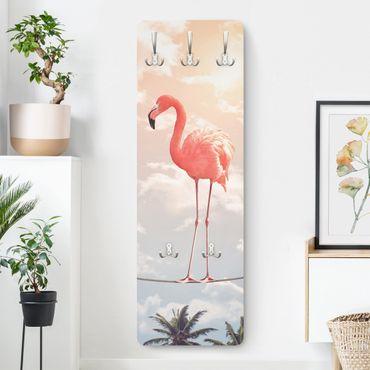 Appendiabiti - Cielo Con Flamingo
