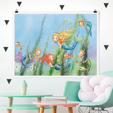 Poster - Matilda La principessa sirena - Orizzontale 3:4