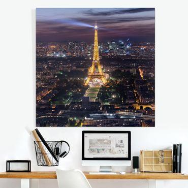 Stampa su tela - Good Night Paris