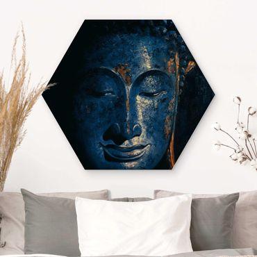 Esagono in legno - Delhi Buddha