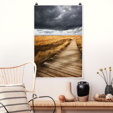 Poster - Way Nelle Dune - Verticale 3:2