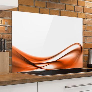 Paraschizzi in vetro - Orange Touch