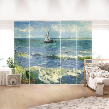 Tende scorrevoli set - Vincent Van Gogh - Seascape Near Les Saintes-Maries-De-La-Mer