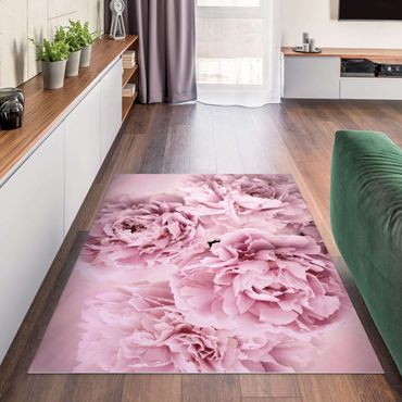 Tappeti in vinile - Peonie rosa - Orizzontale 4:3