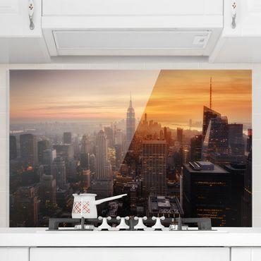 Paraschizzi in vetro - Manhattan Skyline Evening
