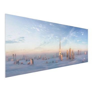 Quadro in forex - Dubai Sopra Le Nuvole - Panoramico