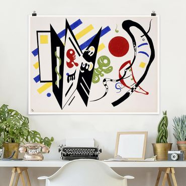 Poster - Wassily Kandinsky - Reciproque - Orizzontale 3:4