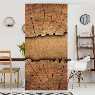 Tenda a pannello Wood structure 250x120cm