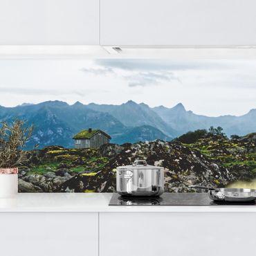 Rivestimento cucina - Baita desolata in Norvegia