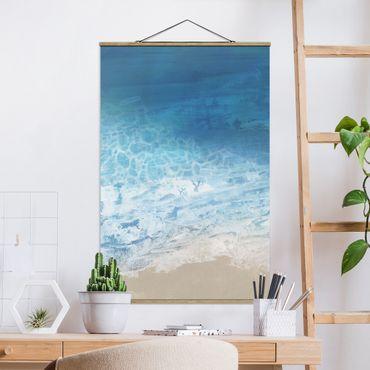 Foto su tessuto da parete con bastone - Tides In Color I - Verticale 3:2