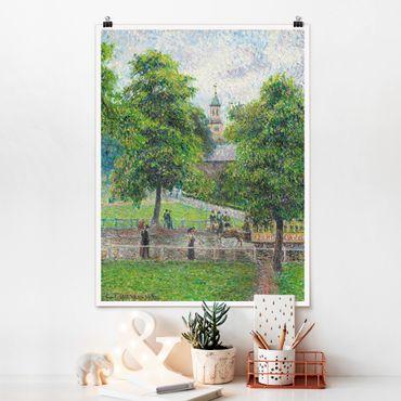 Poster - Camille Pissarro - Chiesa di Sant'Anna - Verticale 4:3
