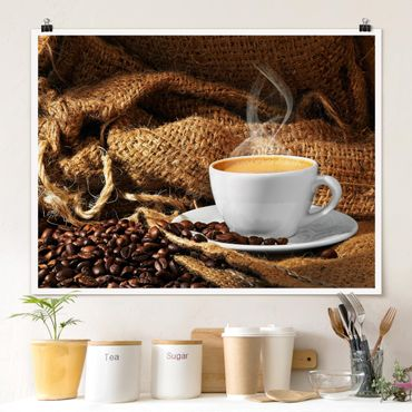 Poster - Morning Coffee - Orizzontale 3:4