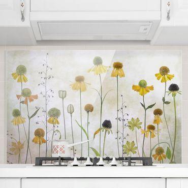 Paraschizzi in vetro - Delicate Helenium Flowers - Orizzontale 2:3