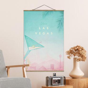 Foto su tessuto da parete con bastone - Poster Viaggi - Viva Las Vegas - Verticale 3:2