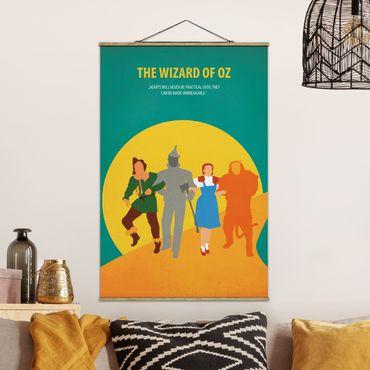 Foto su tessuto da parete con bastone - Poster del film Il Mago di Oz - Verticale 3:2