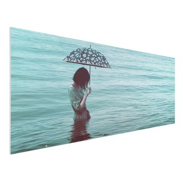 Quadro in forex - Walk In The Water - Panoramico