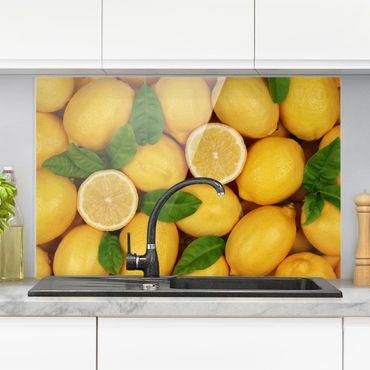 Paraschizzi in vetro - Juicy Lemons - Orizzontale 2:3