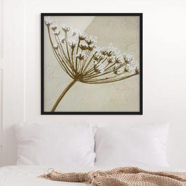 Poster con cornice - Wildflower - Quadrato 1:1