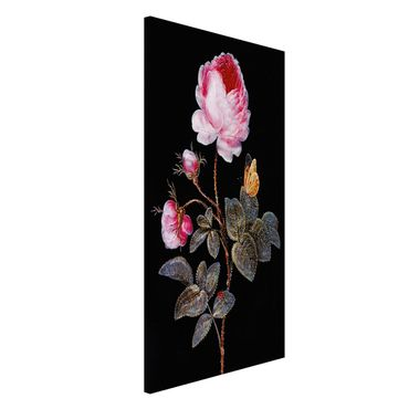 Lavagna magnetica - Barbara Regina Dietzsch - The Hundred-Rose - Formato verticale 4:3