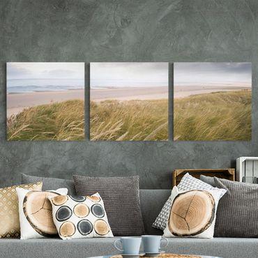 Stampa su tela 3 parti - Dunes Dream - Quadrato 1:1