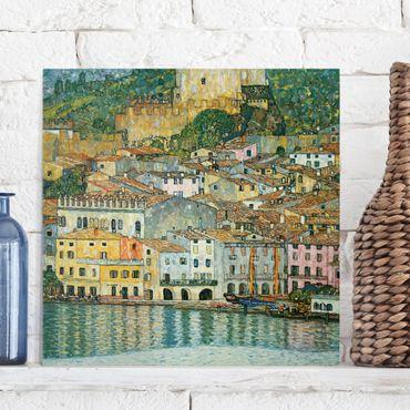 Quadri su tela - Gustav Klimt - Malcesine sul Lago di Garda