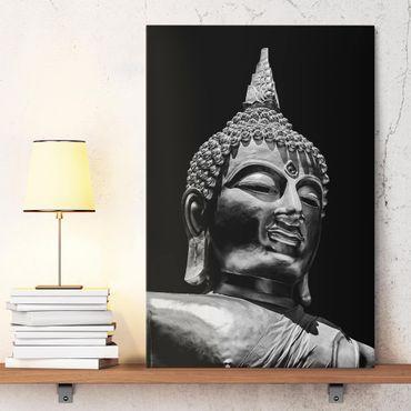 Stampa su tela - Buddha Statue Viso - Verticale 3:2