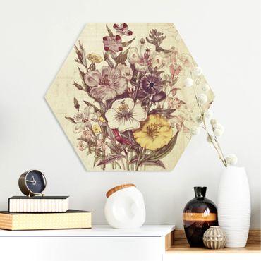 Esagono in forex - Bouquet Lettera Vintage