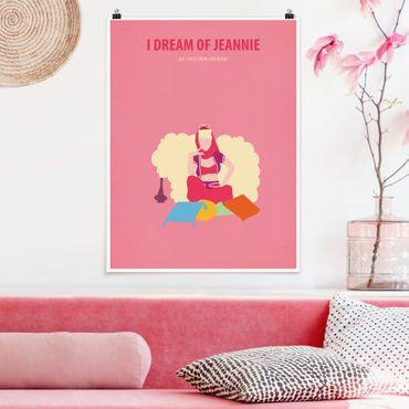 Poster - Locandina cinematografica I Dream Of Jeannie - Verticale 4:3