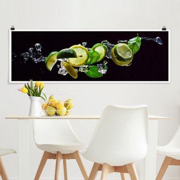 Poster - mojito Ingredienti - Panorama formato orizzontale