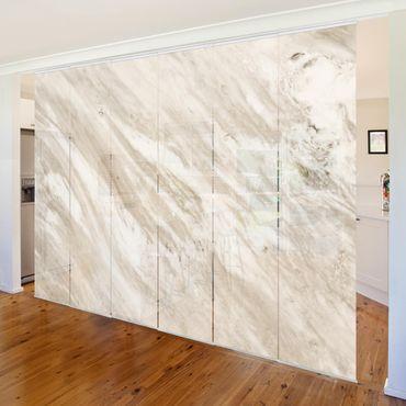 Tende scorrevoli set - Palissandro Marble Beige