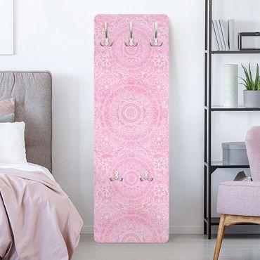 Appendiabiti - Mandala modello rosa