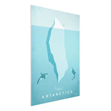 Stampa su Forex - Poster di viaggio - Antartide - Verticale 4:3