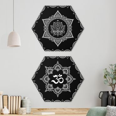 Esagono in forex - Lotus OM Illustrazione set black