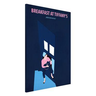 Lavagna magnetica - Poster di film Colazione da Tiffany - Formato verticale 2:3