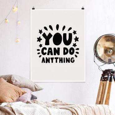 Poster - Si può fare nulla - Verticale 4:3