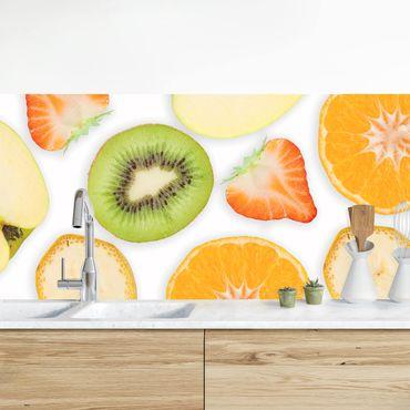 Rivestimento cucina - Mix Di Frutta Colorata