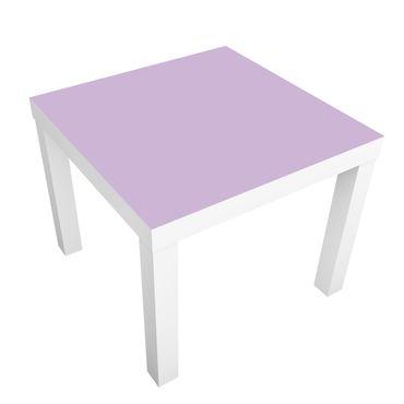 Carta adesiva per mobili IKEA - Lack Tavolino Colour Lavender