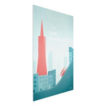 Stampa su Forex - Poster Travel - San Francisco - Verticale 3:2