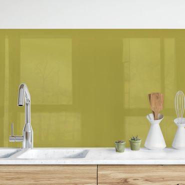 Rivestimento cucina - Verde lime bambù