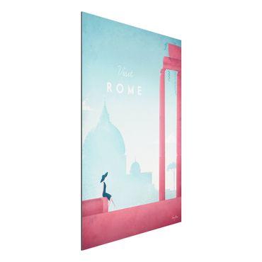 Stampa su alluminio - Poster Travel - Rome - Verticale 3:2