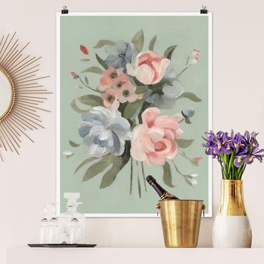Poster - Bouquet nel colore II - Verticale 4:3