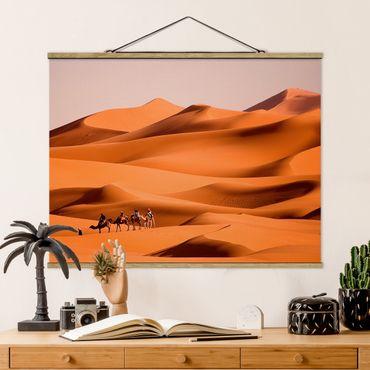 Foto su tessuto da parete con bastone - deserto del Namib - Orizzontale 3:4
