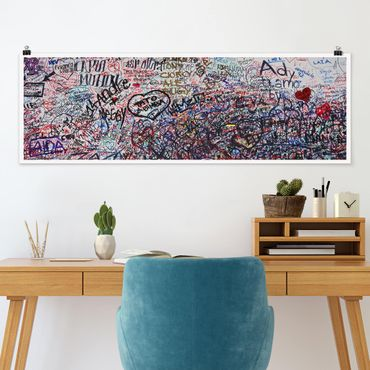 Poster - Verona - Romeo & Juliet - Panorama formato orizzontale