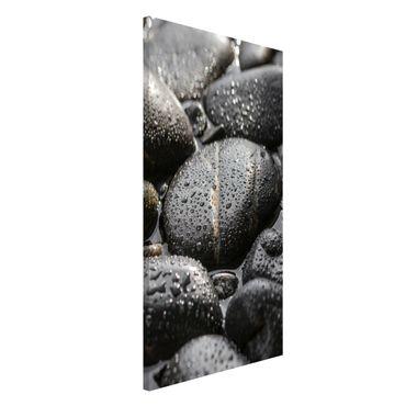 Lavagna magnetica - Pietre Nere In The Water - Formato verticale 4:3